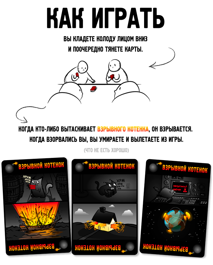 Серия игр Взрывные котята