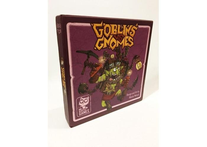 Коробка настольной игры Гоблины против гномов