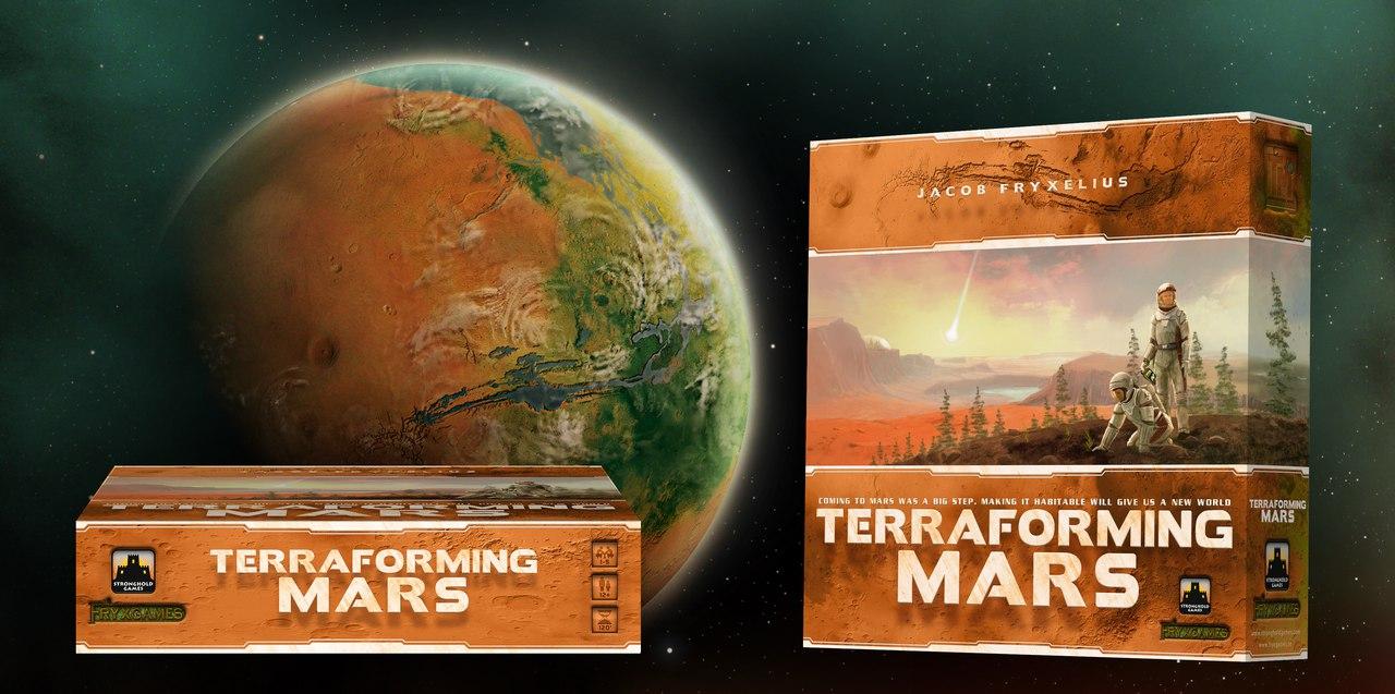 Игра Покорение Марса (Terraforming Mars)